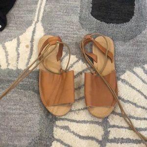 Top shop leather sandals